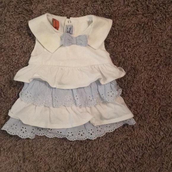 Other - Baby Girl Sailor Neckline Delicate Garden Dress